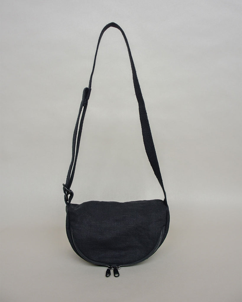 soft crescent moon bag / night