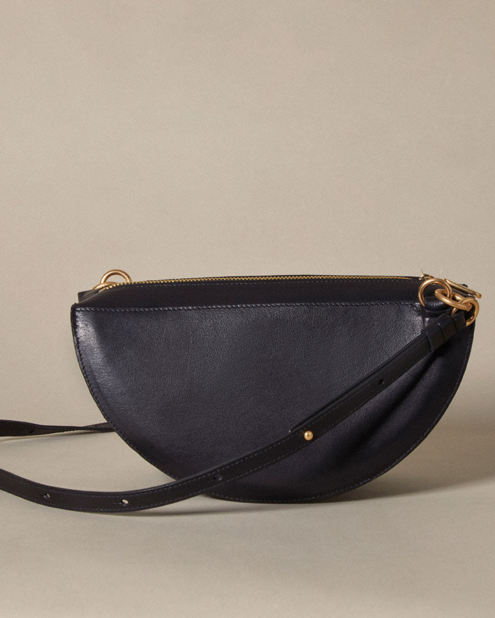 thick crescent moon bag / night