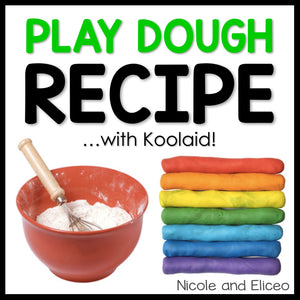 Scented DIY Play Dough Recipe