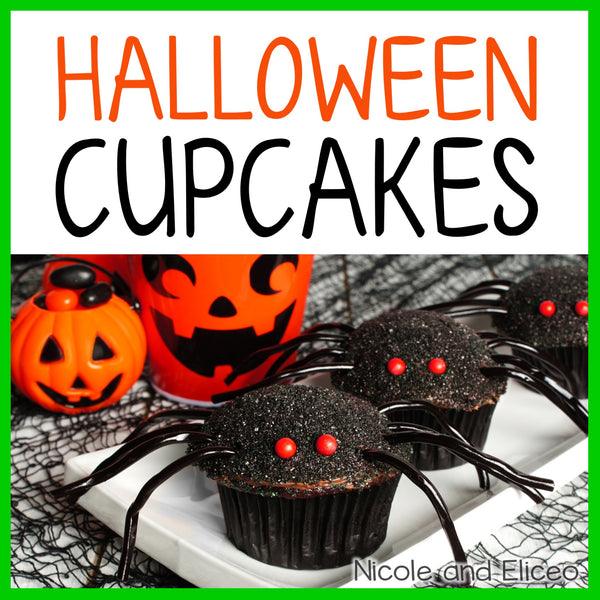 Spider Halloween Cupcake Recipe