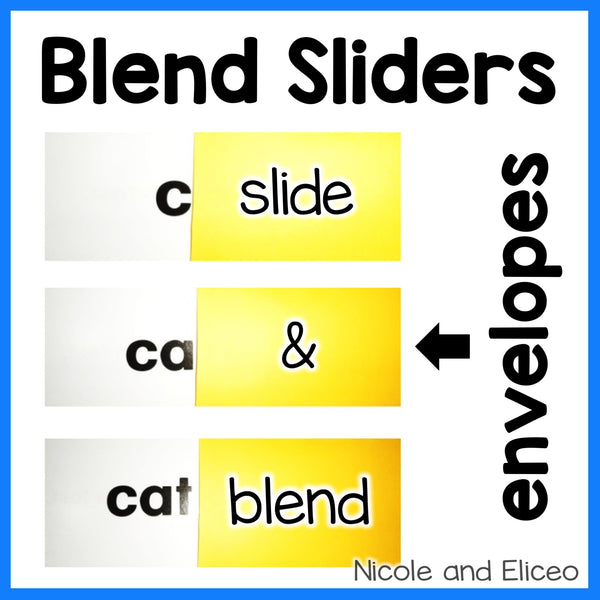 DIY Blend Sliders Activity