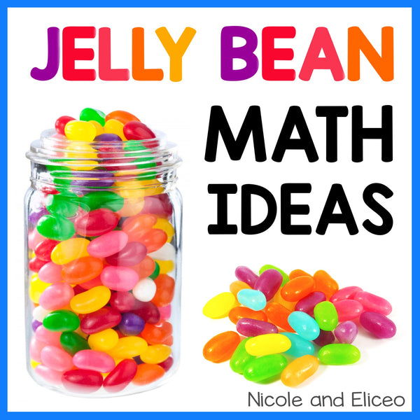 Spring Jellybean Math Activities