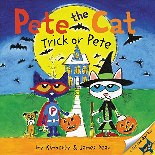 Pete the Cat: Trick or Pete (Ages:4-8)