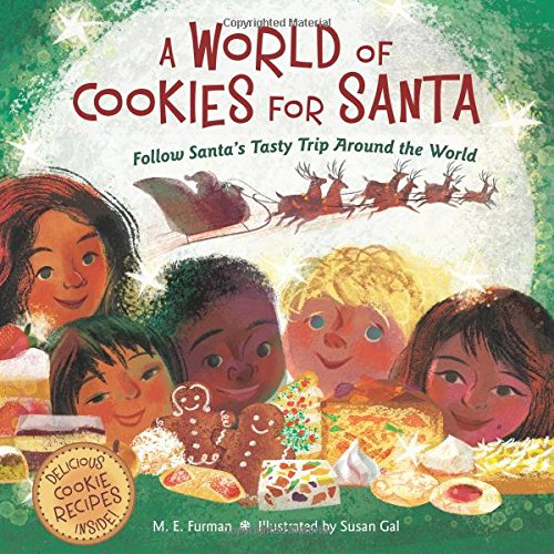 A World of Cookies for Santa (Ages:4-7)