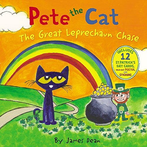 Pete the Cat: The Great Leprechaun Chase (Ages:4-8)