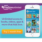 Amazon FreeTime Unlimited - 1 Month Free