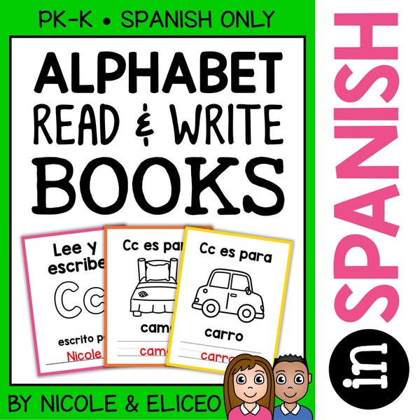 Spanish Alphabet Books