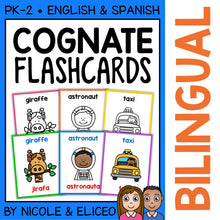 Load image into Gallery viewer, Spanish Cognate Flashcards