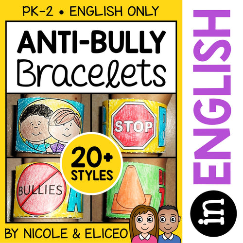 Anti Bullying Activity Bracelets