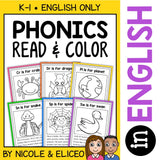 Blend & Digraph Stories Coloring Sheets