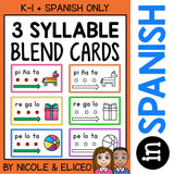 Spanish Syllable Blend Cards 2
