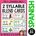Spanish Syllable Blend Cards 1