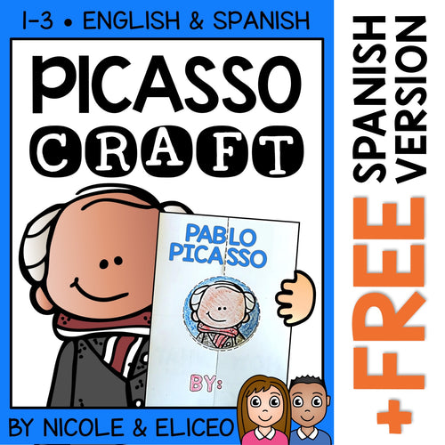 Pablo Picasso Hispanic Heritage Craft Activity