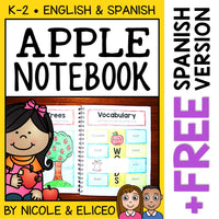 Apple Interactive Notebook Activities
