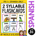 Spanish Syllable Flashcards 1
