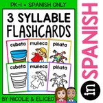 Spanish Syllable Flashcards 2