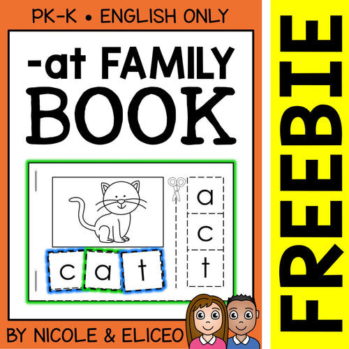FREE at Family Interactive CVC Word Book