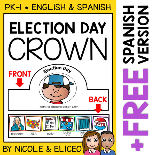 Election Day Activity Crown Craft