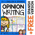 Persuasive Opinion Writing Writers Workshop Unit