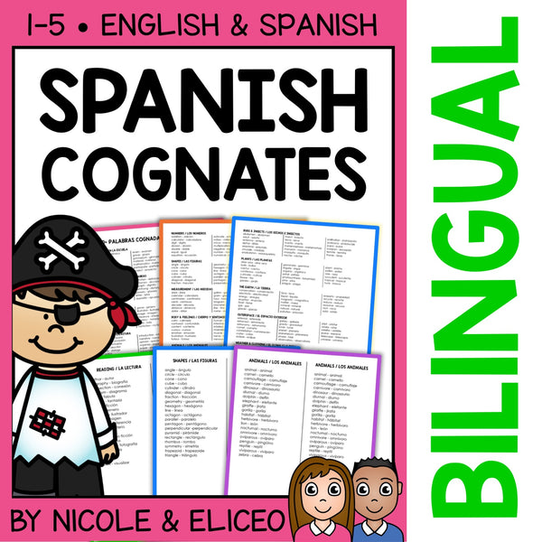 Spanish Cognate Lists