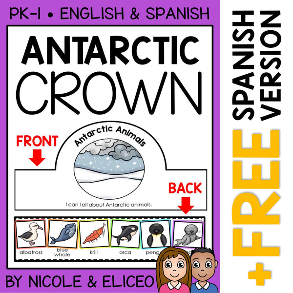 Antarctic Animal Activity Crown Craft