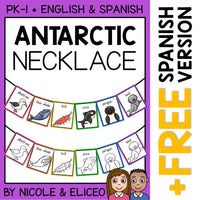 Antarctic Animal Activity Necklace Craft
