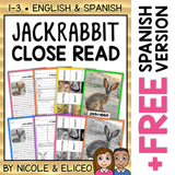 Jackrabbit Close Reading Passage Activities