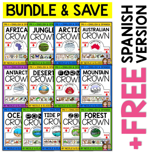 Animal Habitat Activity Crown Bundle
