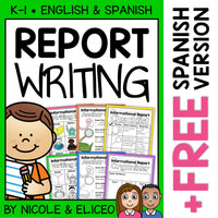 Informational Report Writing Writers Workshop Unit