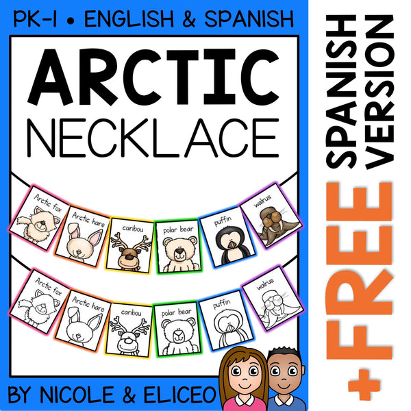 Arctic Animal Activity Necklace Craft