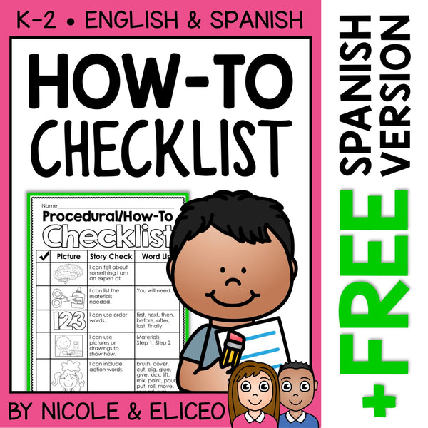 Procedural How To Writing Checklist