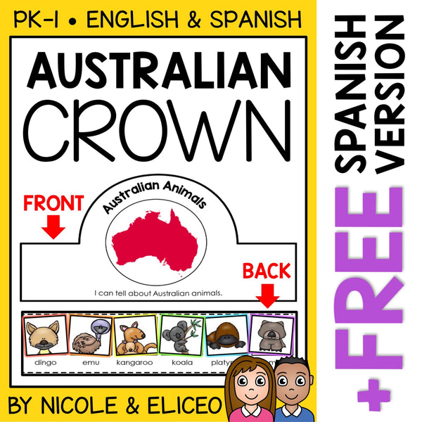 Australian Animal Activity Crown Craft