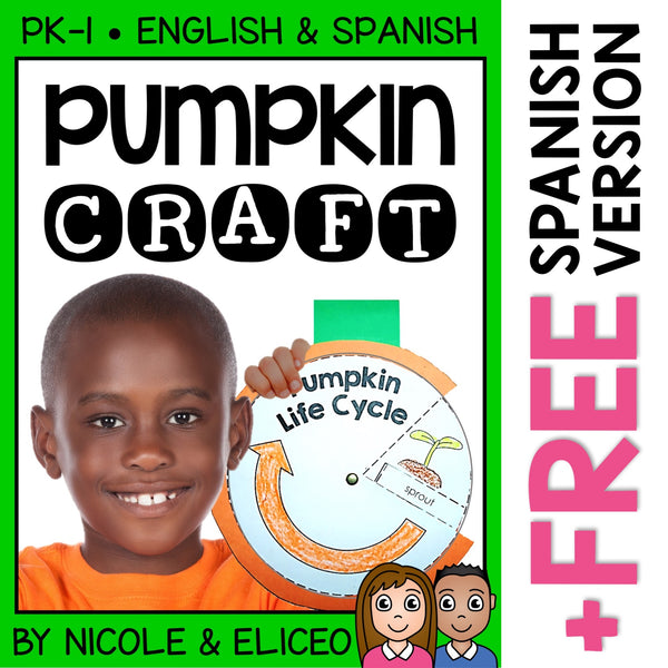 Pumpkin Life Cycle Craft Activity