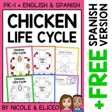 Load image into Gallery viewer, Chicken Life Cycle Activities