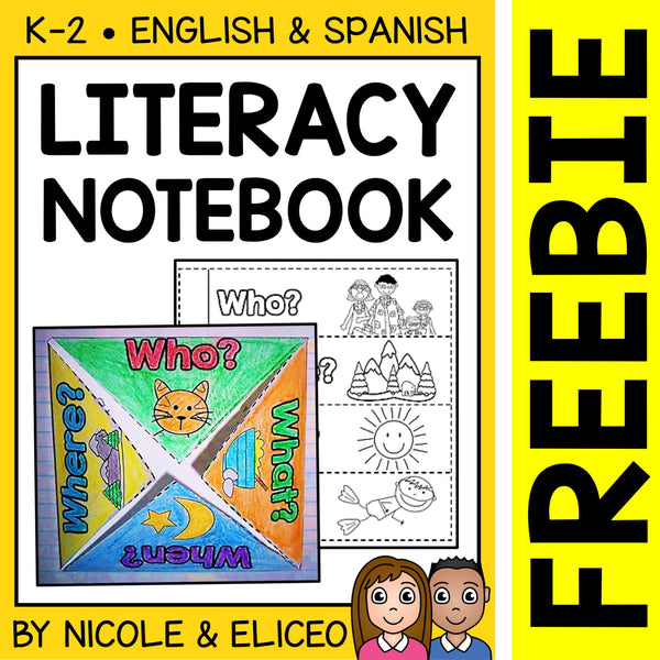 FREE Literacy Interactive Notebook Activities
