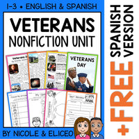 Veterans Day Activities Nonfiction Unit