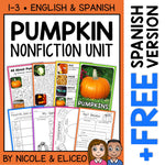 Pumpkin Activities Nonfiction Unit