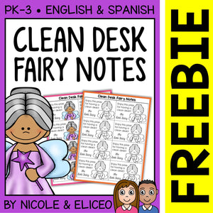 FREE Clean Desk Fairy Awards