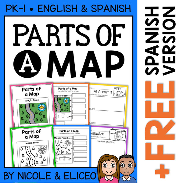 Parts of a Map Activities