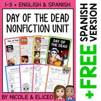 Day of the Dead Activities Nonfiction Unit