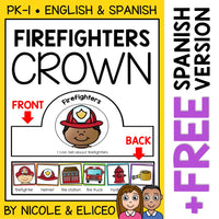Firefighter Activity Crown Craft