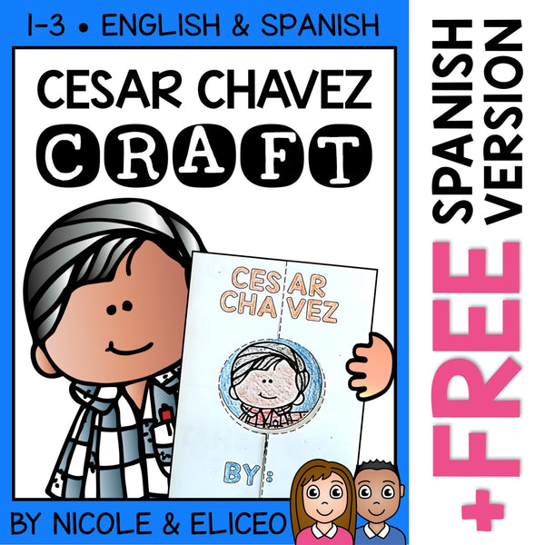 Cesar Chavez Hispanic Heritage Craft Activity