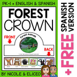 Forest Animal Activity Crown Craft