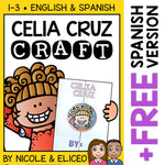 Celia Cruz Hispanic Heritage Craft Activity