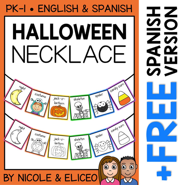 Halloween Activity Necklace Craft