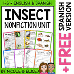 Insect Activities Nonfiction Unit