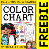 FREE Color Word Activity