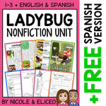 Ladybug Activities Nonfiction Unit