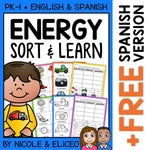 Forms of Energy Sort Activities