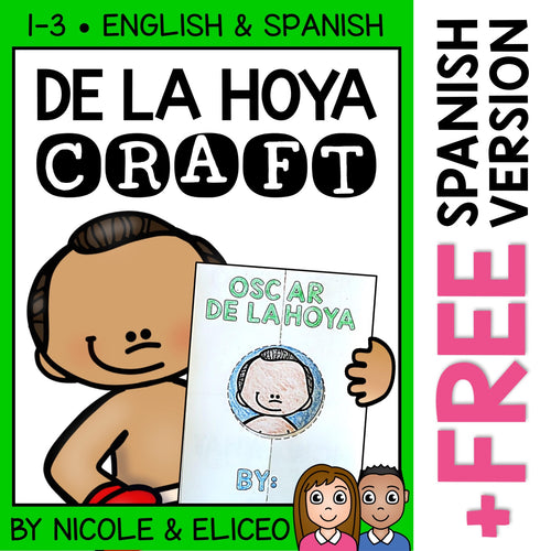 Oscar De La Hoya Hispanic Heritage Craft Activity